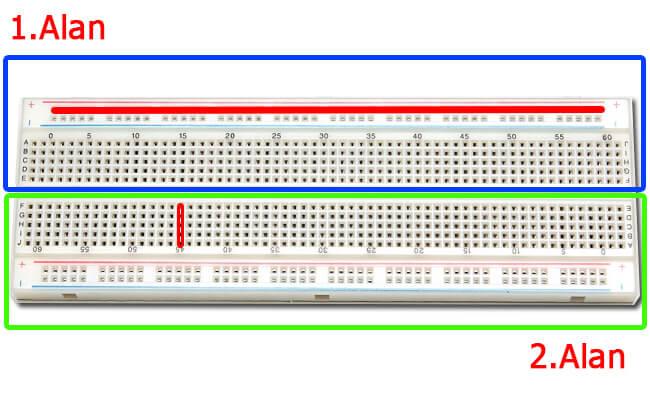 arduino-ile-breadboard-kullanımı