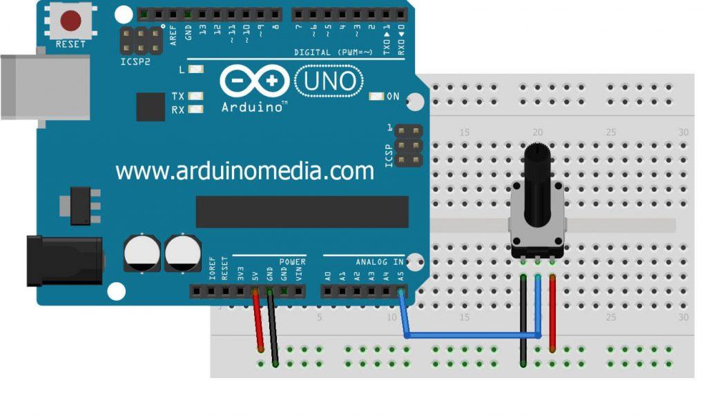 arduino-potansiyometre-bağlantısı-nasıl-yapılır