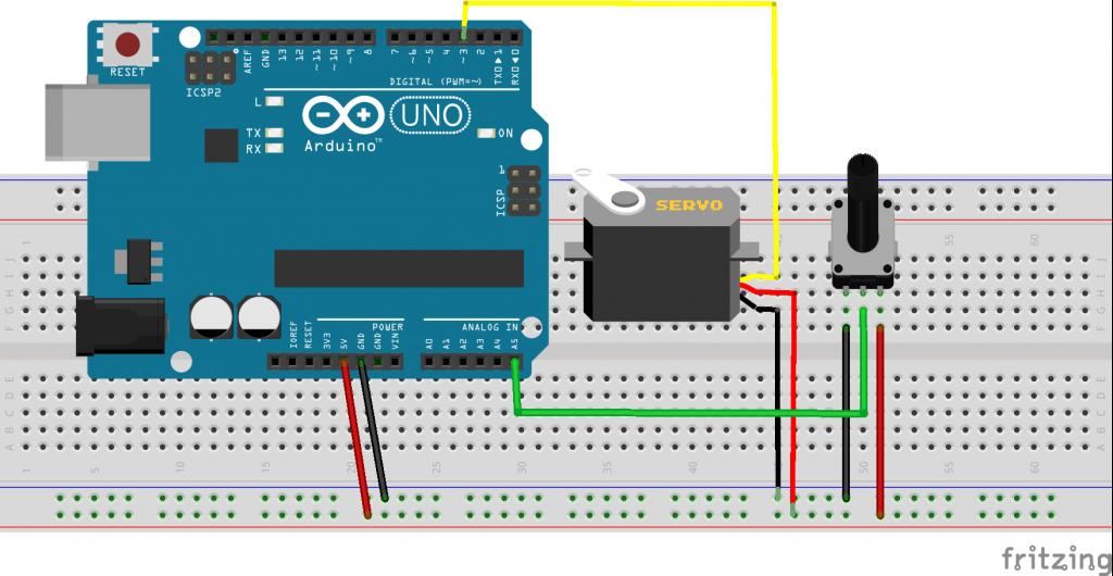 mblcok-ve-arduino-potansiyometre-ile-servo-motor-kontrolü