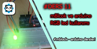 Mblock ile RGB Led Kullanımı