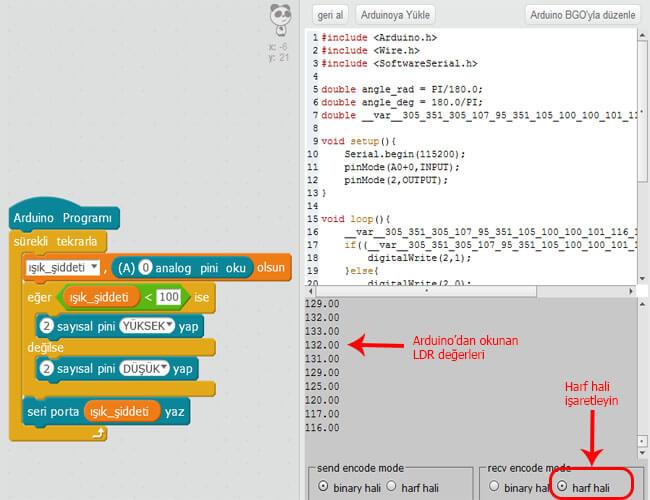 mblock-ldr-değerini-seri-port-ekranında-gösterme