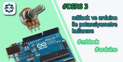 Mblock ve arduino ile potansiyometre kullanımı