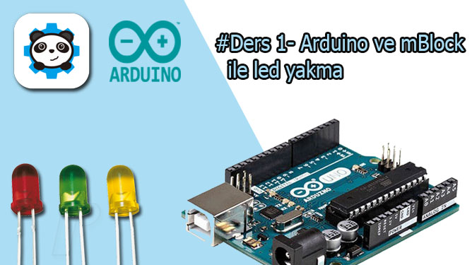 Mblock ve arduino ile led yakma