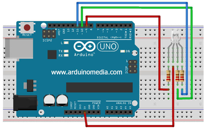 RGB-led-arduino-baglanti-semasi-ortak-anot
