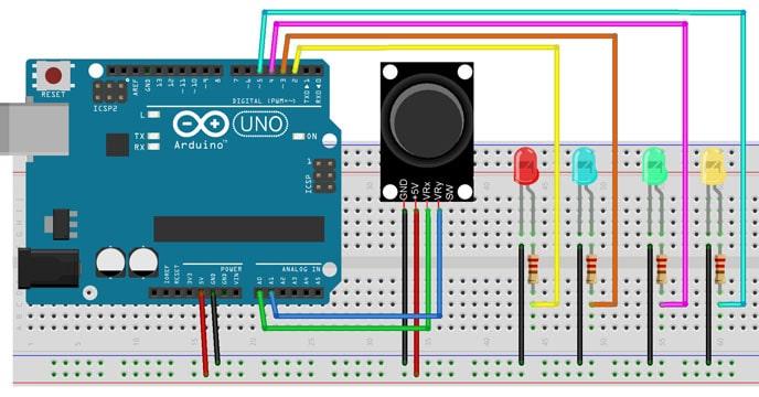 arduino-joystick-ile-led-kontrolu-4-led-yakma