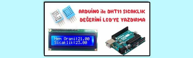 arduino-dht11-sicaklik-degerini-lcdye-yazdirma
