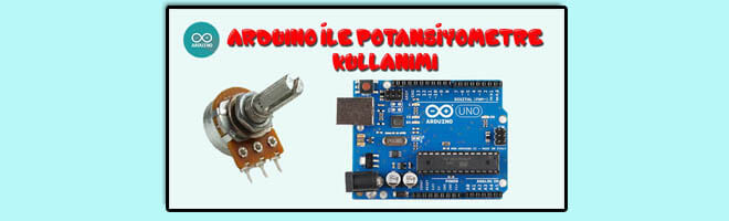 arduino-ile-potansiyometre-kullanımı