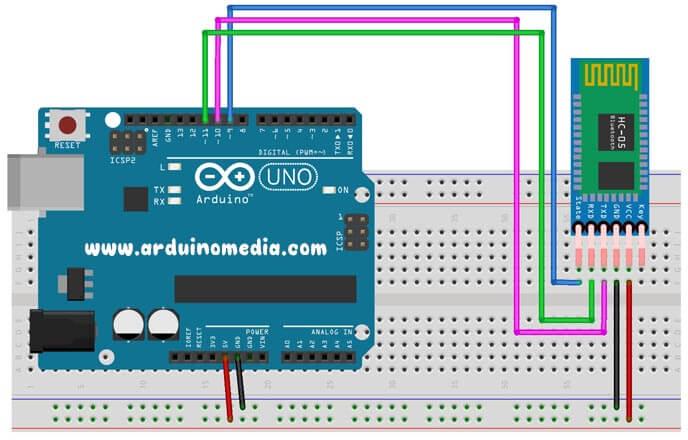arduino-hc-05-bluetooth-bağlantı-şeması