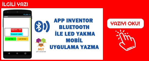 arduino-ile-bluetooth-led-yakma